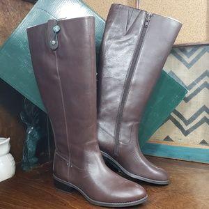 Lauren Ralph Lauren kid wide calf boots